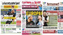 La Rassegna Stampa dei principali quotidiani sportivi italiani di lunedì 13 luglio 2020