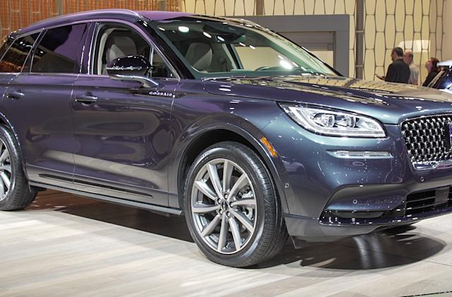 Lincoln's 2020 Corsair Grand Touring will offer electric all-wheel drive