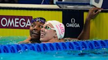 In her last shot at trials, Simone Manuel qualifies for 50 free, headed to Tokyo Olympics
