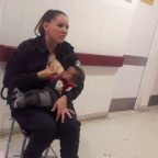 The Internet is loving the story of the police officer who breastfed a malnourished baby
