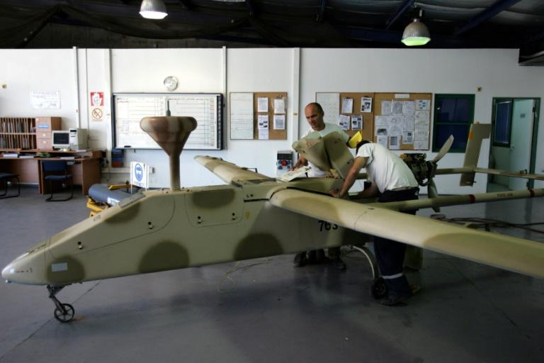 The 2006 war between Israel and Hezbollah was the first in history when the number of flight hours of unmanned aircraft was higher than that by manned, according to a study by the University of Tel Aviv (AFP Photo/GALI TIBBON)