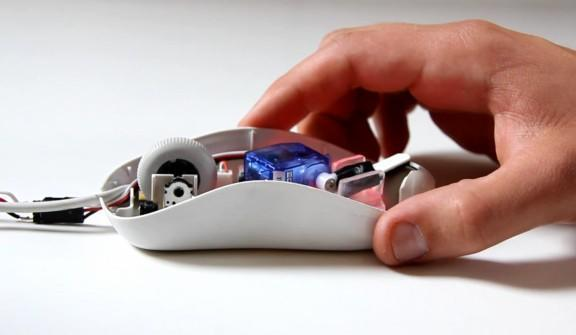 DataBot mouse and HDD concepts give weight to files, encourage data purges (video)
