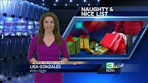 Consumer Reports releases 'Naughty or Nice' list