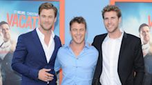 Chris, Liam, and Luke Hemsworth Hit the Red Carpet, Paralyze Us With Their Piercing Baby Blues