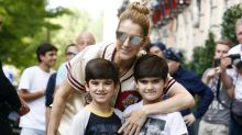 Celine Dion Goes Shopping With Her Adorable 6-Year-Old Twin Sons: Pic!