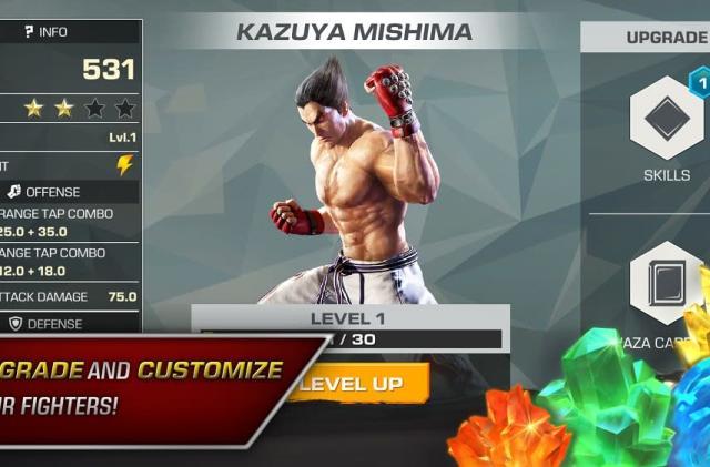 Fighting classic 'Tekken' debuts on mobile