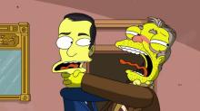 Los Simpson se burlan de los primeros 100 días de Trump