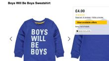 Mum calls out Asda for using 'sexist' Boys Will Be Boys slogan on a children's jumper