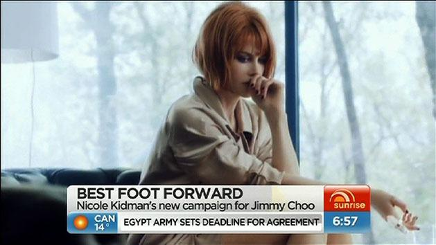 Kidman fronts Jimmy Choo campaign
