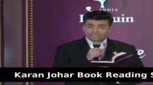 Karan Johar Book Reading Session | Master On Masters | By Ustad Amjad Ali Khan