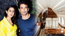 Sushant Singh Rajput booked a chartered plane for Sara Ali Khan