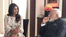 Photos: Priyanka Chopra meets Prime Minister Narendra Modi in Berlin