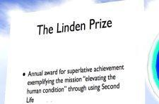 Linden Prize reannounced