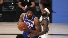 Joel Embiid downplays heated confrontation with Sixers teammate Shake Milton on bench
