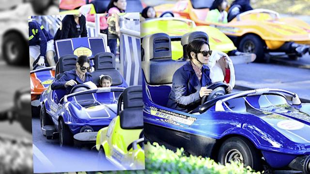 Suri Cruise's Disney World Thrills