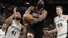 NBA denies Rockets' protest after Harden dunk waved off