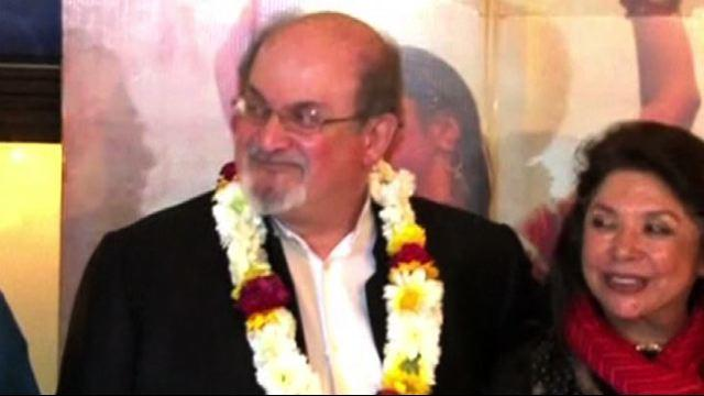 Rushdie in India per la prima del film