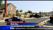 SWAT team arrests Chula Vista shooting suspect