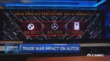 US automakers fear Chinese retaliatory tariffs
