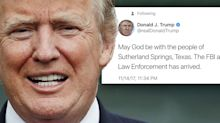 Trump deletes tweet that appeared to reference wrong mass shooting