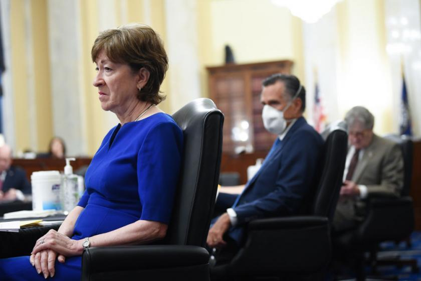 10 GOP senators to unveil alternative $600 billion COVID-19 relief package