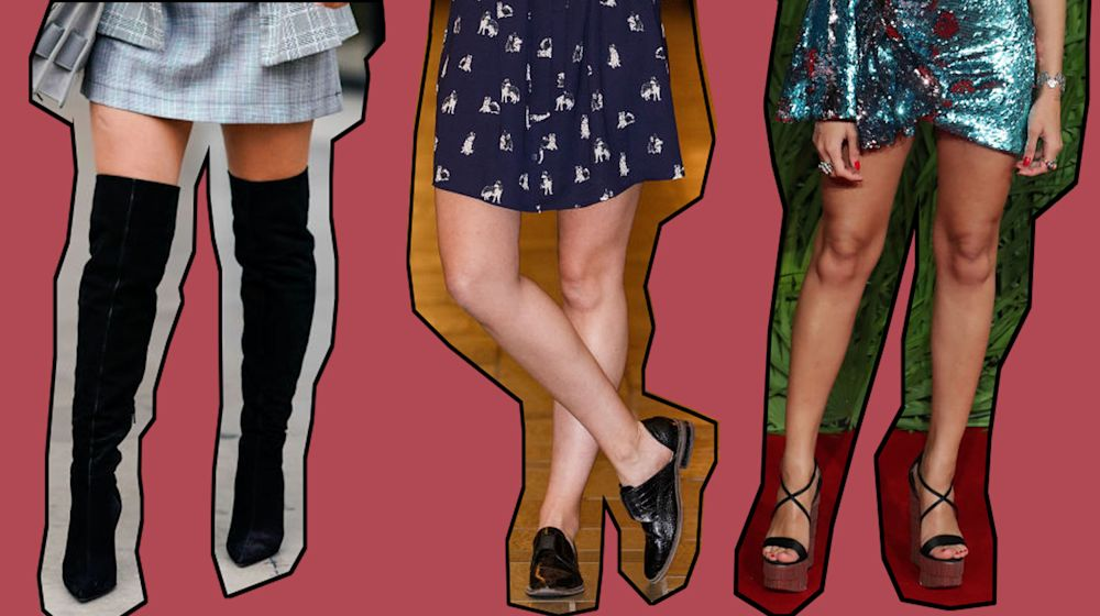 Would you go to the effort of thighlighting? (Photos: Getty)