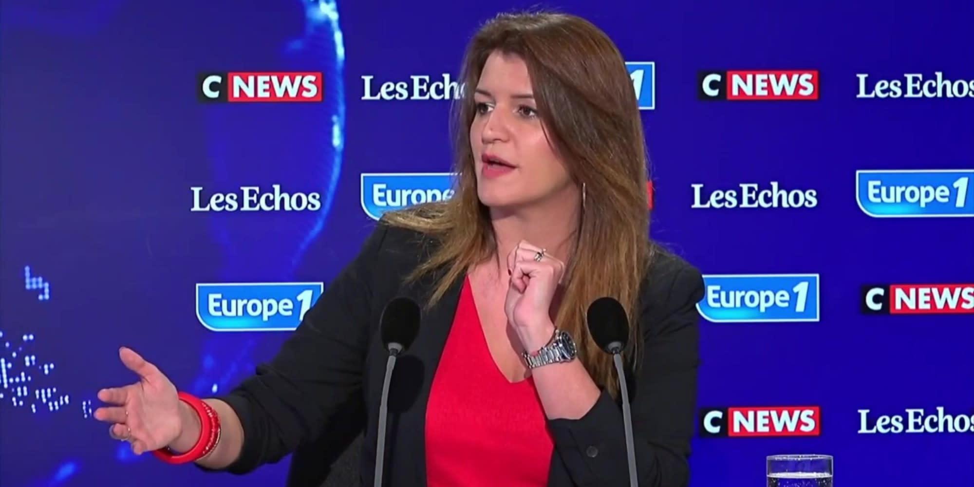 """""""Dire que Macron et Le Pen ça se vaut, c'est irresponsable"""", dénonce Marlène Schiappa"""