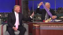 Old Video Of Letterman Challenging Trump Over China-Made Ties Goes Viral