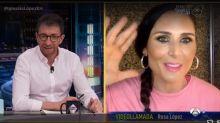 """Rosa López corta a Pablo Motos tras una pregunta personal: """"Yo no hablo de estas cosas por televisión"""""""