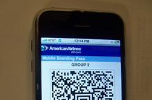 American Airlines getting in on that cellphone boarding pass fad