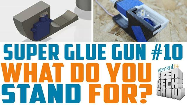 Ben Heck's super glue gun: Designing a better enclosure