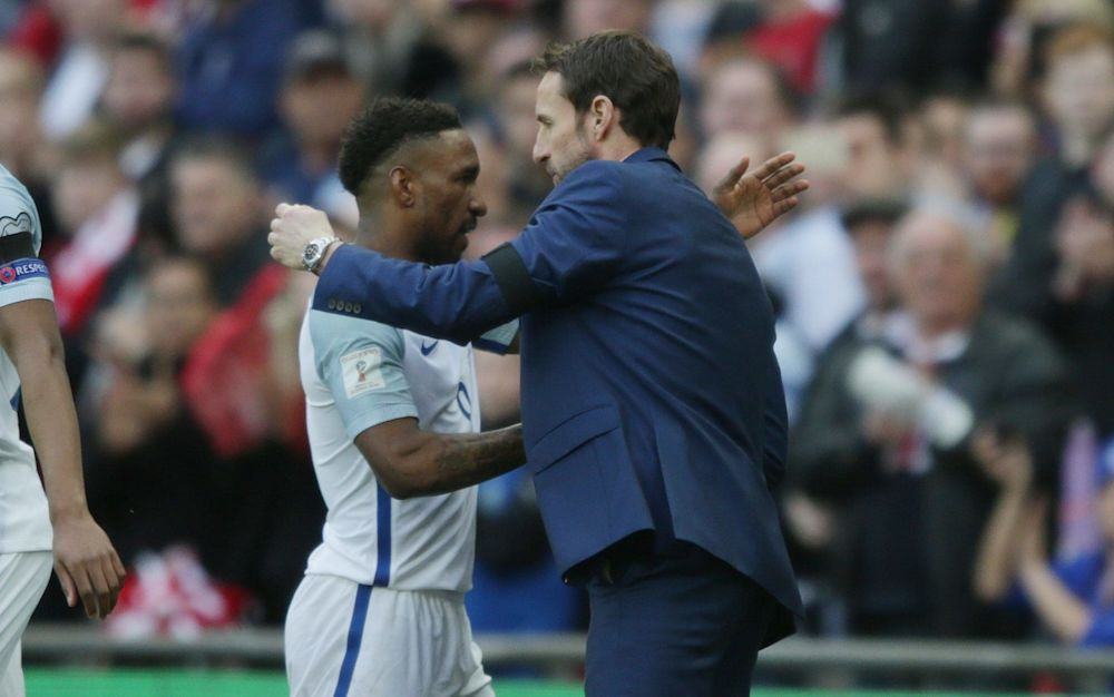 Gareth Southgate was delighted with Jermain Defoe's contribution - Rex Features