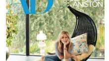 Jennifer Aniston speaks lovingly of Justin Theroux in Architectural Digest