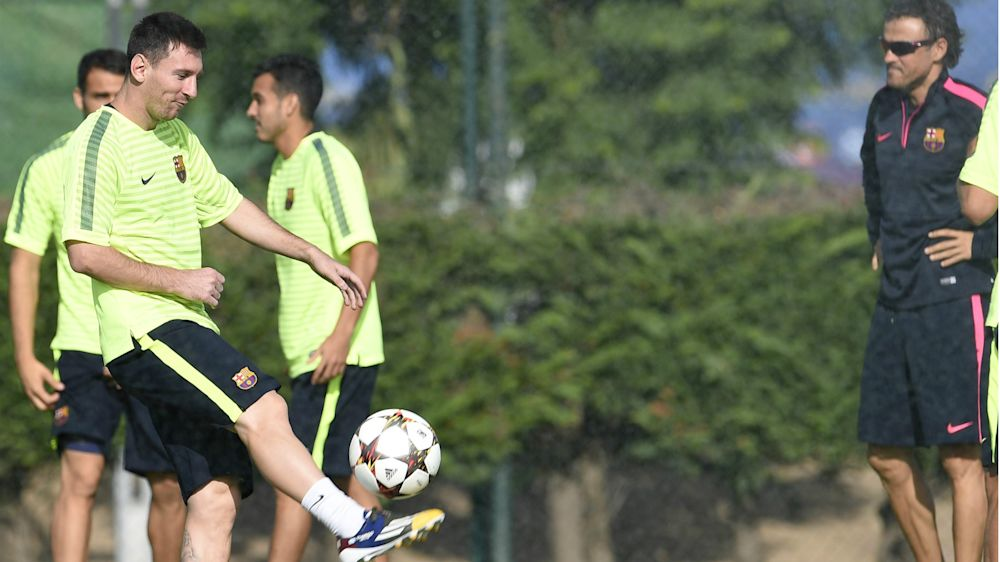 Barça, Luis Enrique évoque la suspension de Messi