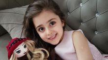【全球最美女童】囡囡太靚擔心人身安全 爸爸索性辭職做貼身保鏢