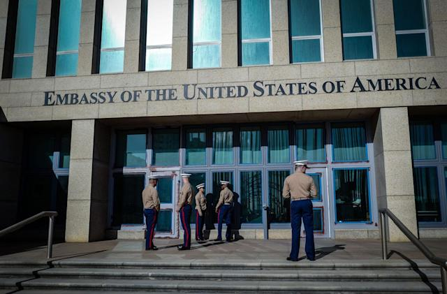 Study finds changes in Cuban diplomats' brains, but no sign of attack