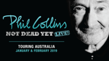 Phil Collins announces Australian shows on World Tour