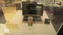 Un ordinateur portable en or !