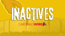 Patriots inactives: Former Cardinals QB Brian Hoyer will not dress