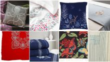 BUY: 10 embroidered home linen for your vintage home