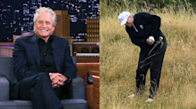Michael Douglas on Trump's golf game: 'Not quite as good as he thinks he is'