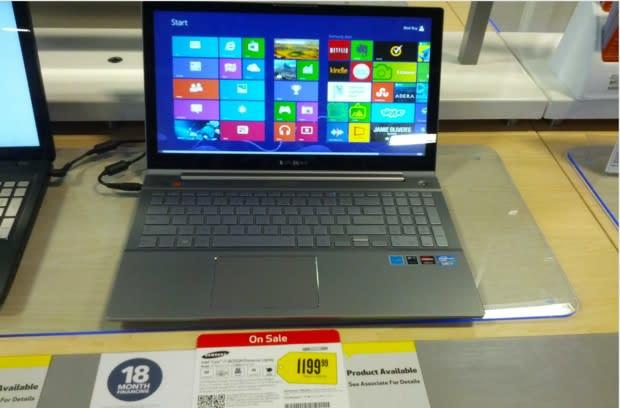 Samsung Series 7 Chronos trickles into US stores