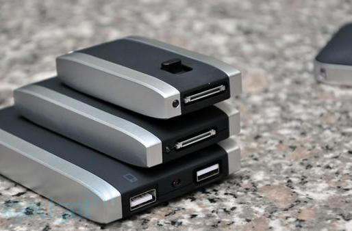 Mophie Juice Pack family portrait: Powerstation, Reserve, Boost, and Air for iPhone 4