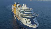 Celebrity Edge, Celebrity Cruises' brand-new, billion-dollar cruise ship