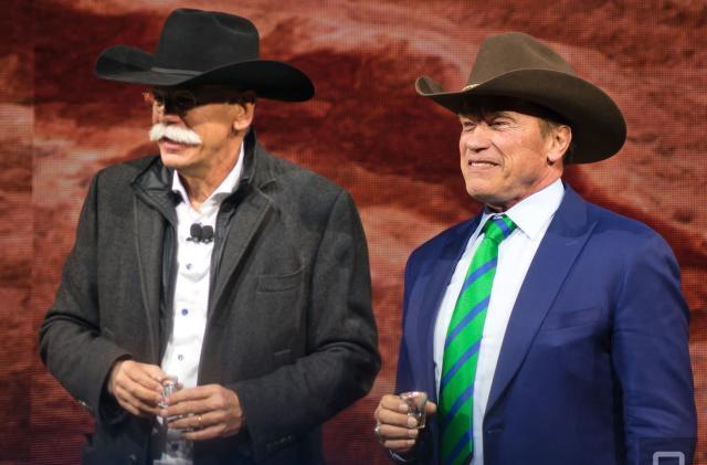 Arnold Schwarzenegger will star in Amazon western series