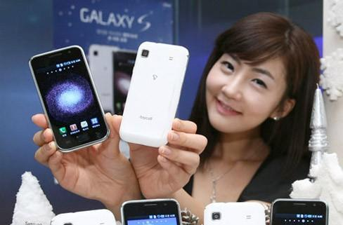 Samsung, it turns out, knows how to make a white Galaxy S