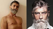 This 62-year-old male model is smashing stereotypes