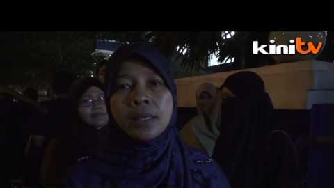 Vigil held in support of Pakatan leaders arrested for sedition