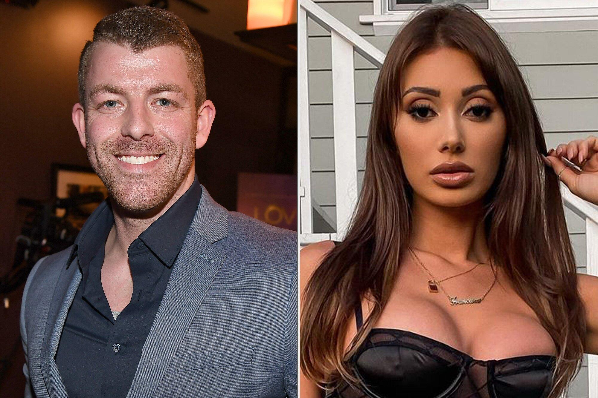 Love Is Blind Star Damian Powers Denies He S Dating Too Hot To Handle S Francesca Farago