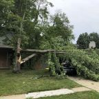 Destructive derecho, a line of storms with 100 mph winds, slams Chicago and Midwest